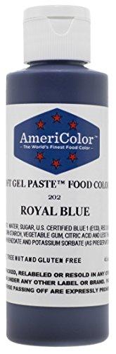 Americolor Paste Color 4 5 Ounce Royal product image