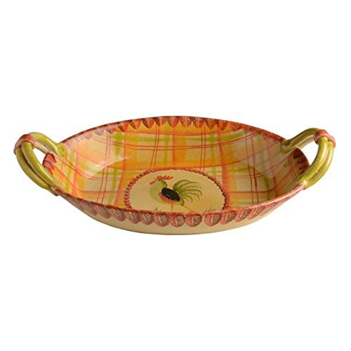 Italian Dinnerware - Oval Casserole Dish - Handmade in Italy from our Il Canto del Sol Collection by Modigliani