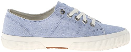Lauren Ralph Lauren Jolie Fashion Sneaker Blue Oxford Cloth 9glS74472