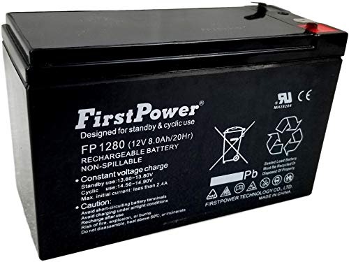 Pocket Rocket Batteries - FirstPower 12v 7ah for New Razor Pocket Rocket PR200 Battery - 2 Pack