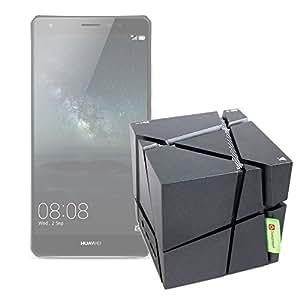 DURAGADGET Altavoz Bluetooth Portátil Para Sony Xperia X / Performance / XA- Luces De Colores + Cable De Carga + Cable Mini Jack