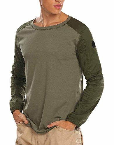 息切れ幽霊気配りのあるCoorun コンバットシャツ 長袖 TDUシャツ アーミーシャツ メンズ アウトドア 自衛隊 スポーツシャツ 耐久性 透湿性 タクティカル シャツ ミリタリー Tシャツ 大きいサイズ S~XXL
