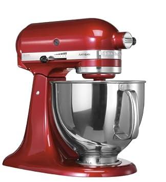Kitchenaid küchenmaschine artisan rot 5ksm150pseer  Amazon.de: KitchenAid 5KSM150PSECA4 Küchenmaschine mit kippbarem ...