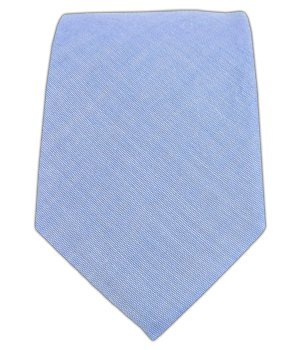 - The Tie Bar 100% Cotton Sky Blue Classic Chambray 2 1/2 Inch Skinny Tie