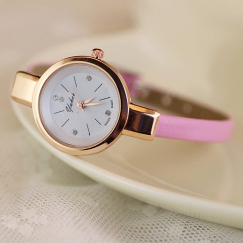 $4.56 Pink Fashion Watch + Fre...