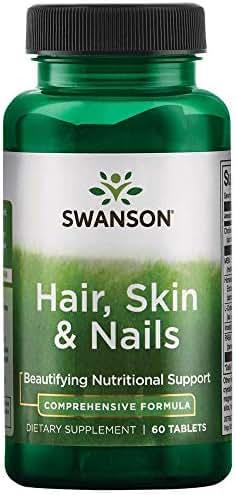 Swanson Hair Skin & Nails 60 Tabs