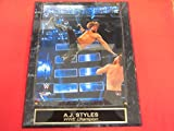 A.J. Styles WWE Collector Plaque #2 w/8x10
