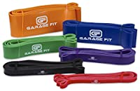 Garage Fit Pull Up Assist Band, Stretch Resistance Mobility Band - Powerlifting Bands - Extra Durable, Top Rated Pull-Up Assist Bands for Cross Training Exercise