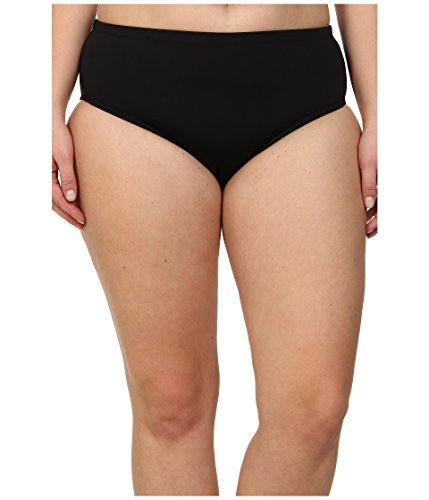 BECCA-by-Rebecca-Virtue-Womens-Plus-Size-Solid-Full-Swimsuit-Bottom-Black-1X
