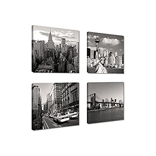 New York City Picture Canvas Painting Modern Wall Art: New York City Canvas Wall Art: Amazon.com