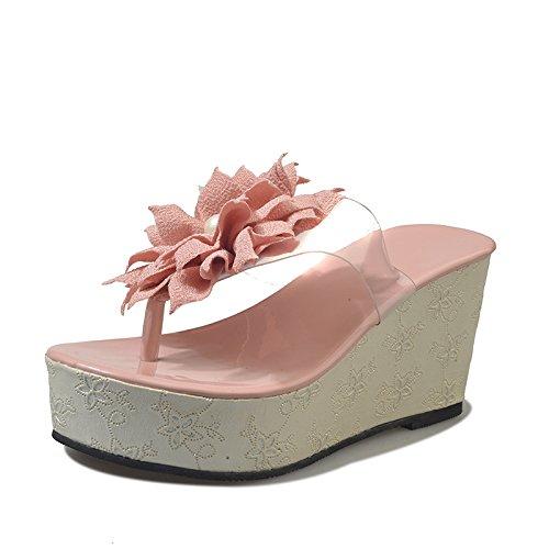 puro dama redonda abajo gruesa zapatillas zapatillas Thirty six color cabeza muelle Dony el Señoras xwqRnvBw