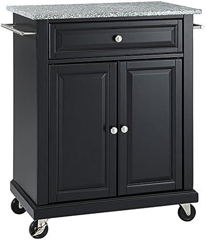 amazon com crosley furniture cuisine kitchen island with solid