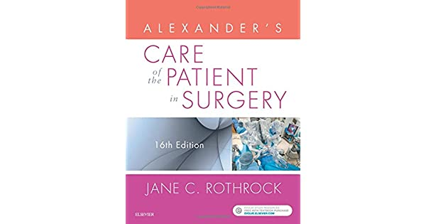 Amazon.com: Alexanders Care of the Patient in Surgery ...