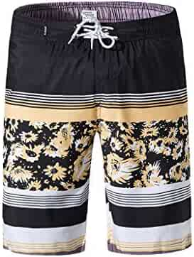 cebb303cee3 YOcheerful Men's Beach Shorts, Sales! Men Swim Trunks Quick Dry Beach Surfing  Trunks Loose