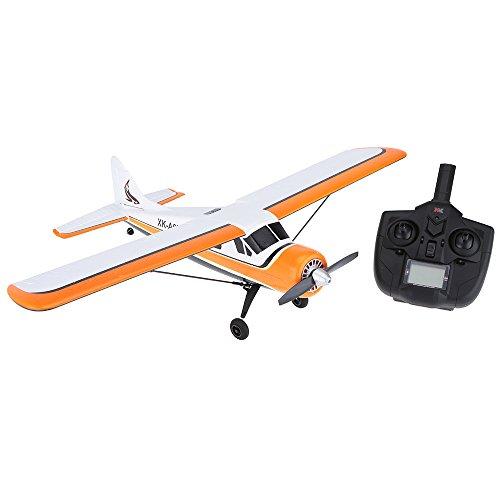 [해외] Goosky XK 비행기 DHC-2 A600 5CH 2.4G 브러시 레스 모터 3D 6G RC비행기 리어 착백팩 장치익 span580mm