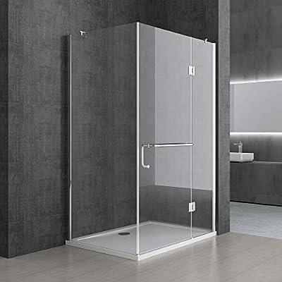 Sogood Cabina de ducha esquinera Rav04S 80x110x190cm, mampara de ...