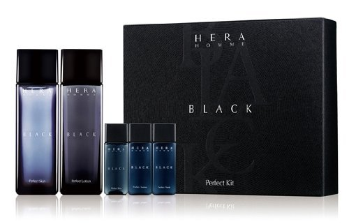 HERA Homme Black Perfect Gift Set(Lotion120ml+Skin120ml+Sample)