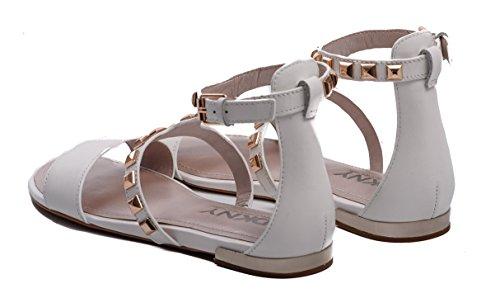 DKNY mujer Sandalias para de vestir Bianco RRzq10