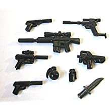 BrickArms Spy Pack for Minifigures - Undercover Agent Weapons