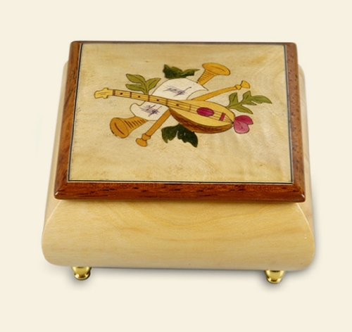Yunsheng Rhymes 30 Note Movement Engraved Wooden Music Box Play Moonlight Legend From Pretty Soldier ,Sailor Moon (Poloere) by Rhymes