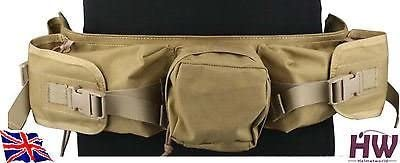 AIRSOFT EMERSON POUCH TACTICAL SNIPER STEALTH WAIST PACK BELT TAN KHAKI: Amazon.es: Deportes y aire libre