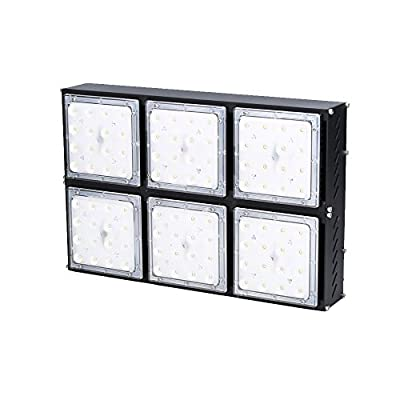 Indee 240W Dimming LED High Bay Lighting, Super Bright Commercial Lighting,28200lm, Beam Angle 60 degrees Industrial Lighting Waterproof, Nature White, 4000K, LED High Bay Lights [Energy Class A+]