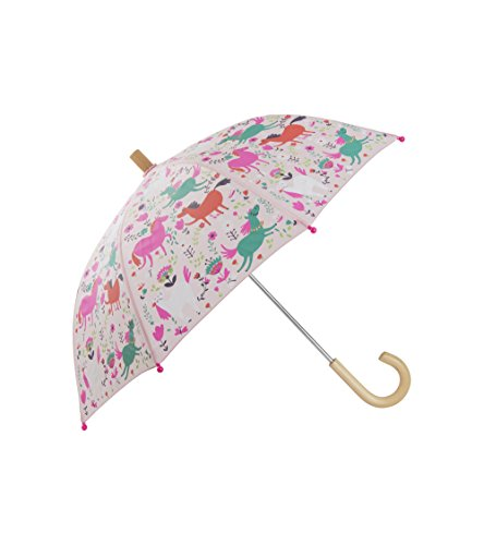 Printed Umbrellas, Roaming Horses, One Size (Hatley Kids Girls Clothing)
