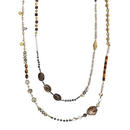 Quartz Tigers Eye Necklace - 5