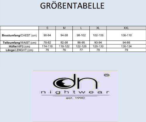 dn-nightwear - Camisón - para mujer gris oscuro
