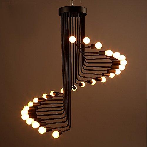 - Whse of Tiffany LD4369 Jack 26-Light Edison Chandelier, 28