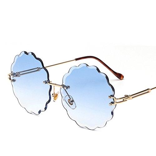 5 Sol Sin Moda De gafas Gafas Sol Marco Haihai 1 gafas zxf6p