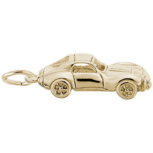 Gold Plated Car Charm, Charms for Bracelets and Necklaces ()