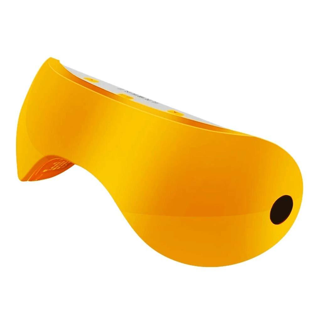 TLMYDD アイマッサージアイプロテクター乱視矯正アイ大人の子供たちは疲労回復視覚治療近視アーティファクトを和らげる 睡眠マスク (色 : イエロー いえろ゜)  イエロー いえろ゜ B07PFTB2Q4