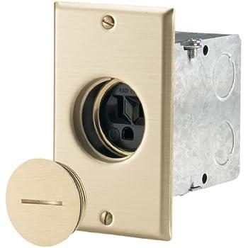 Eaton Tr5797 Tamper Resistant Commercial Single Floor Box