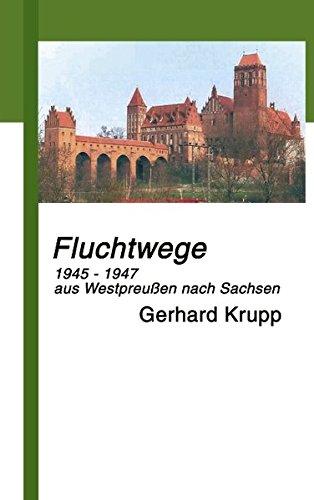 Fluchtwege: 1945-1947 aus Marienwerder/Westpreussen nach Löbau/Sachsen