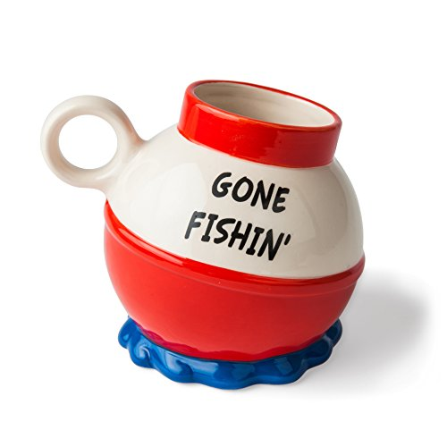 BigMouth Inc Gone Fishin Mug