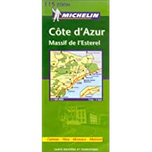 Michelin France, Cote D'Azur Zoom Map No. 11115