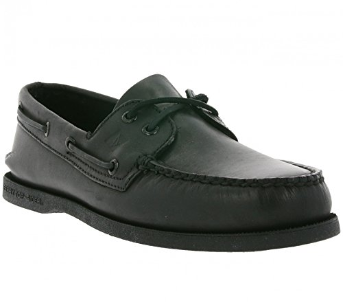 Authentic Scarpe Sperry Eye 0836981 Original Schwarz 2 Uomo basse Pdwqxfvgw