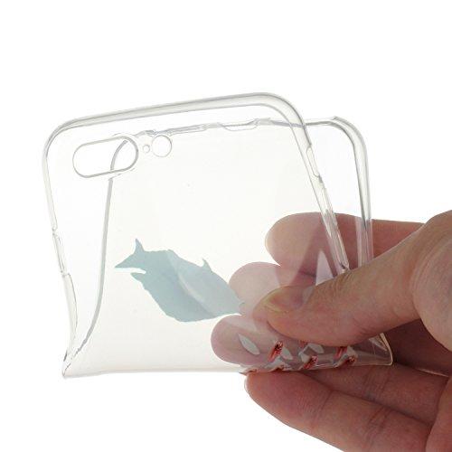 Voguecase® für Apple iPhone 7 Plus 5.5 hülle, Schutzhülle / Case / Cover / Hülle / TPU Gel Skin (Fisch) + Gratis Universal Eingabestift