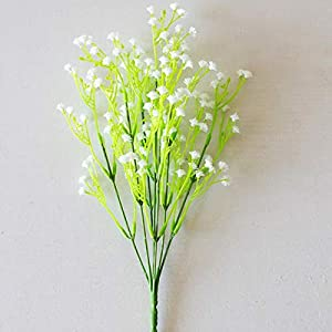 Artificial & Dried Flowers - 1pcs Artificial Flower Baby 39 S Breath Gypsophila Fake Flowers Bouquet Silk Plant Wedding Home - Flowers Breath Fake Bouquet Baby Artificial 80