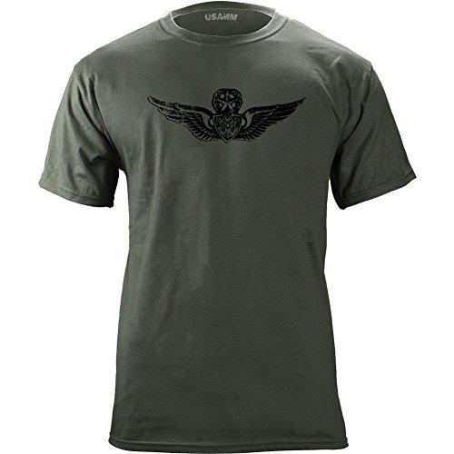 n Master Badge Subdued Veteran T-Shirt (XL, Green) (Subdued Master)