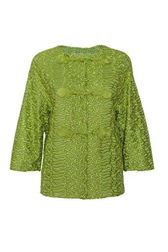 ermanno-scervino-womens-d306i339pjp60435-green-polyester-jacket