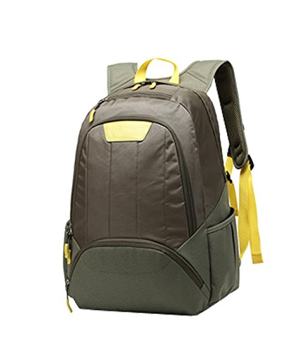 Leisure Shoulders Brown Backpack Student Casual Computer Travel Bags purpose Business Sports Laidaye Multi wqFHUC