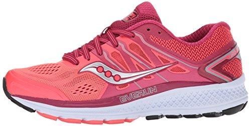 Saucony Women's Omni 16 Running Shoe, Berry Coral, 10 Medium US Photo #3