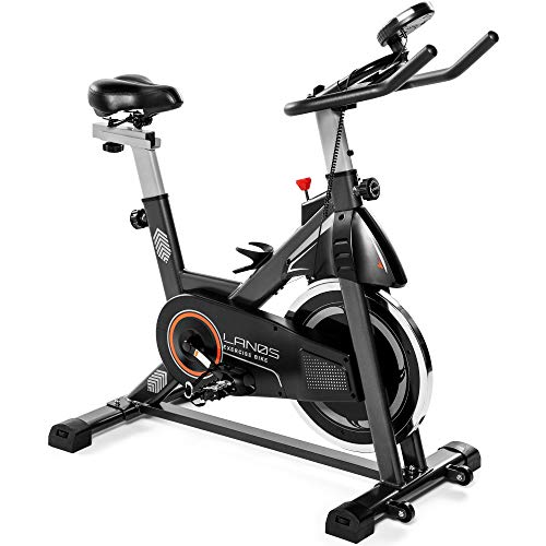 Lanos Exercise Bike, Stationary Bike for Indoor Cycling   The Perfect Exercise Bikes for Home Gym   Indoor Exercise Bike…