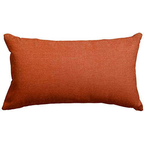 Majestic Home Goods Orange Villa Indoor Small Throw Pillow 20
