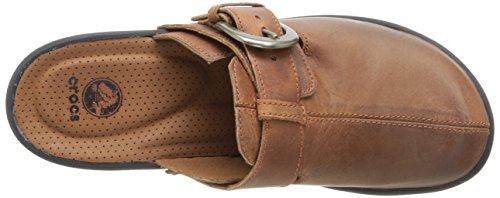 Cobbler Mahogany 39 Zoccoli 5 Buckle EU Crocs Cinnamon Marrone Donna dxw6Y4YAq
