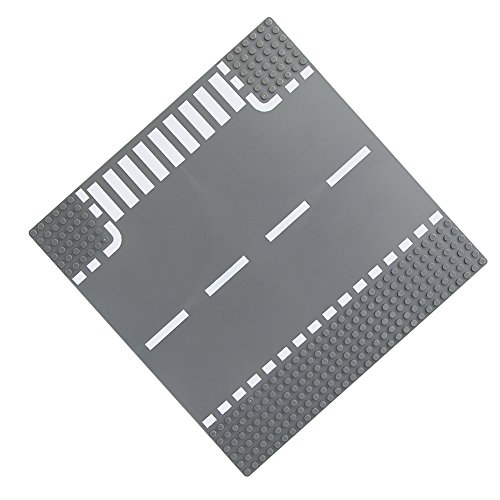 Feleph City Straight/ Curve/ T-junction/ Crossroad Road Base Plate 8802 Building Kit 10
