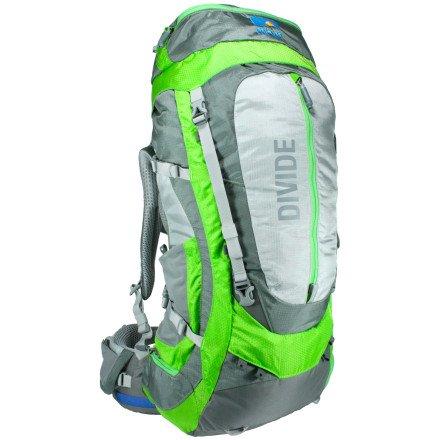 Divide 55 Backpack (Hyper Lime), Outdoor Stuffs
