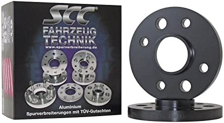 Lk 100//4+108//4 NLB 57,1 E30 10mm pro Achse - 3//1 3//R Spurverbreiterung System 2 C/&S SCC Distanzscheibe ALU 5mm f/ür BMW 3er Cabrio,
